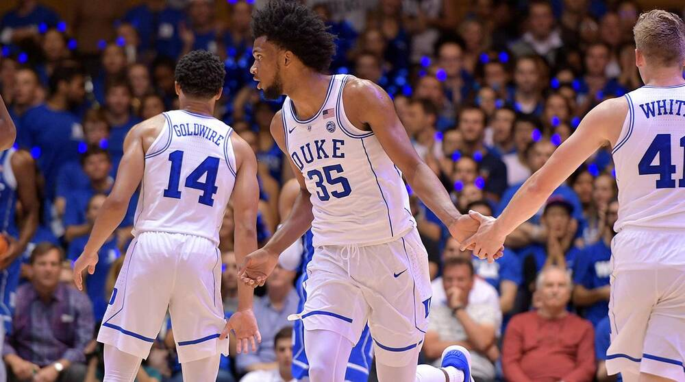 quality design af097 7be7f Duke basketball's 2017-18 lineup without Marvin Bagley III ...