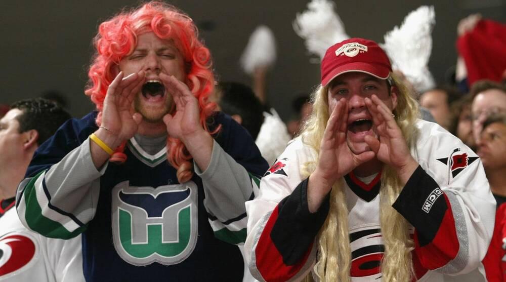 Carolina Hurricanes  Hartford Whalers throwback jerseys an option ... 940aa74ba