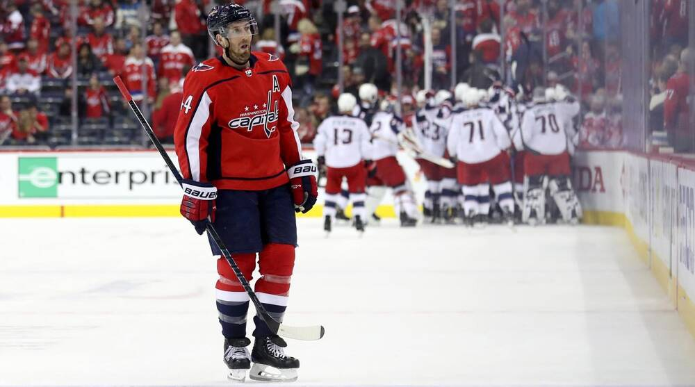 NHL Playoffs  Capitals overtime loss to Blue Jackets a slow bleed ... b8a8adc7d006