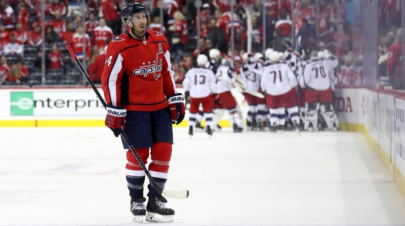 NHL Playoffs: Capitals Overtime Loss To Blue Jackets A Slow Bleed