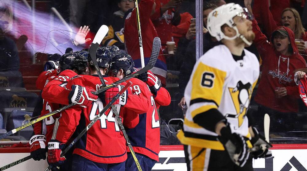 2bc4946b232 NHL playoffs  Capitals take Game 2 from Penguins