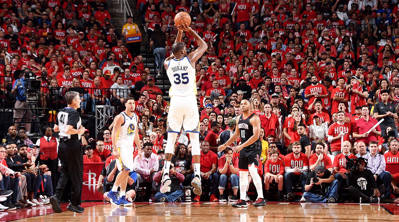 Warriors vs. Rockets Game 1