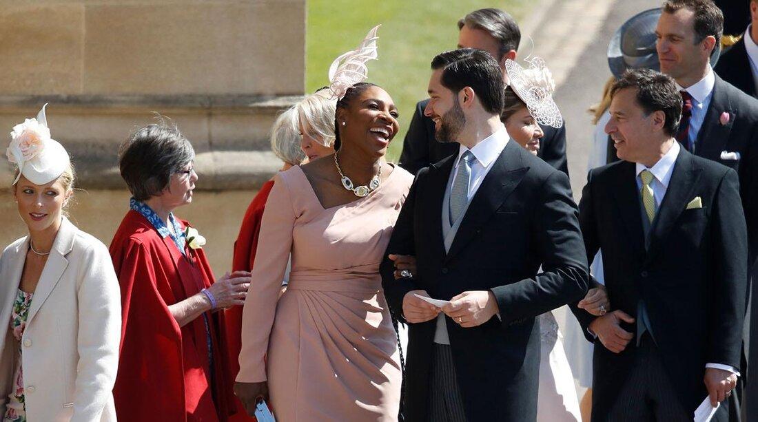 Serena Williams David Beckham Royal Wedding Meghan Markle Prince Harry