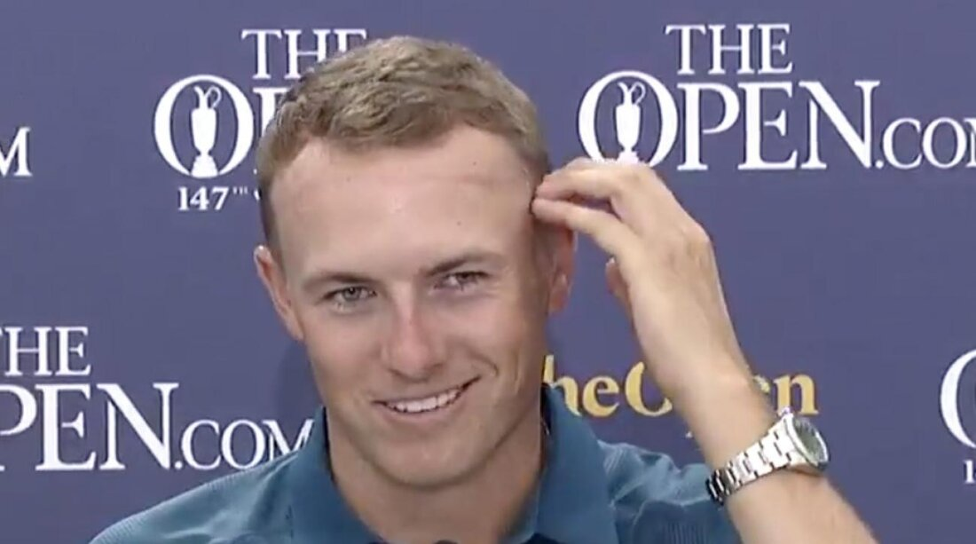 Jordan Spieth Haircut Scottish Barber Went A Little High And Tight