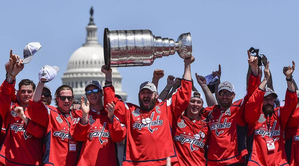 8b25a27a79f Stanley Cup Champions Washington Capitals Victory Parade and Rally