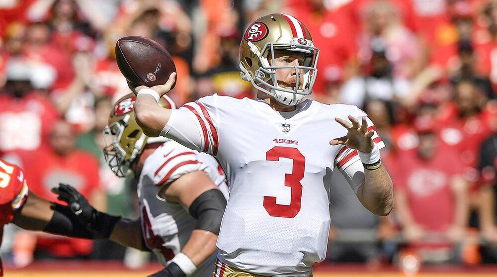 14e9732eae6 Garoppolo Out for Season  49ers Options to Replace Him