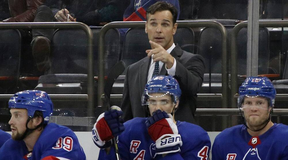 04d02895540 David Quinn ready to get rolling for New York Rangers