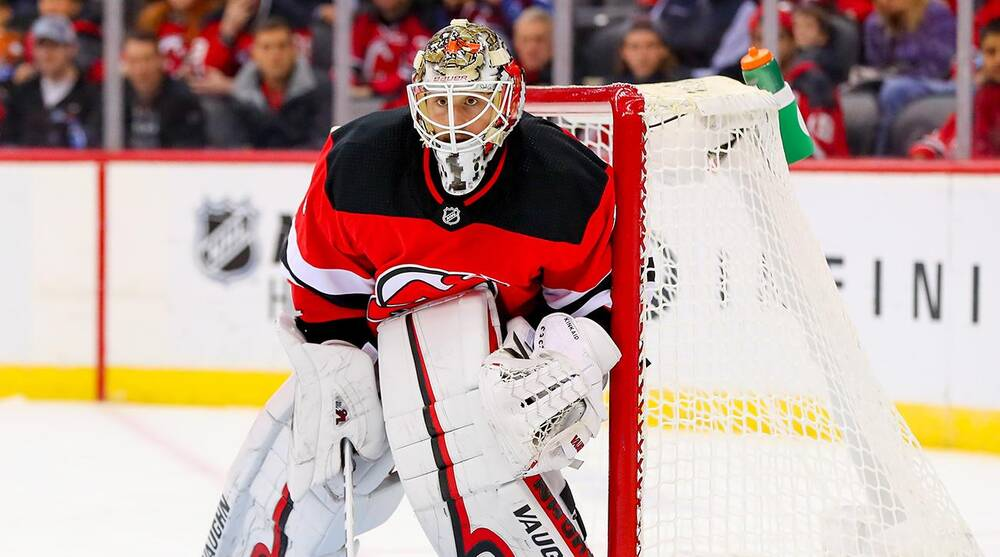 New Jersey Devils  Behind the success of goalie Keith Kinkaid  f95612742