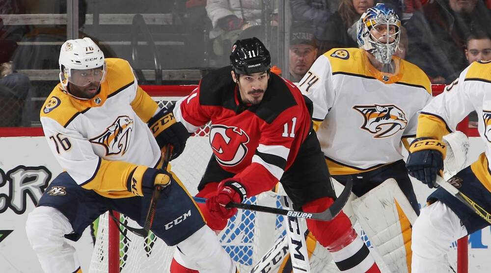 New Jersey Devils  Brian Boyle plays 700th game f915093be