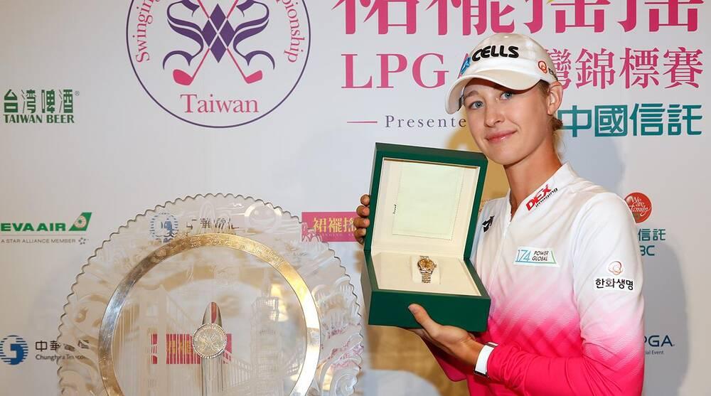 Nelly Korda Wins Taiwan Championship For First Lpga Title Sicom