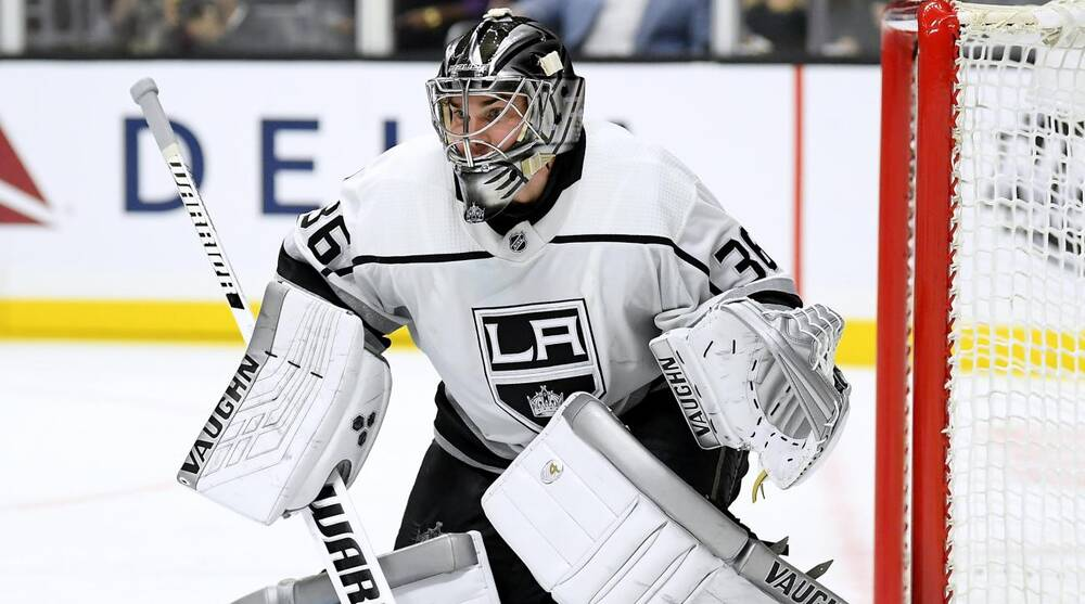 La Kings Goalie Jack Campbell Out 4 6 Weeks With Knee Injury Si Com