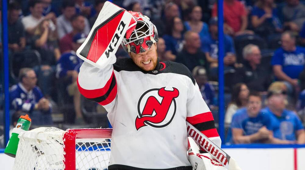 New Jersey Devils have limited options as Cory Schneider struggles ... 6038af37b