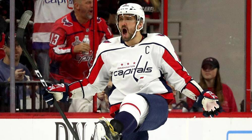 Alex Ovechkin Scores Hat Trick in Second Straight Game as Capitals Top  Hurricanes 806e8fa55d2