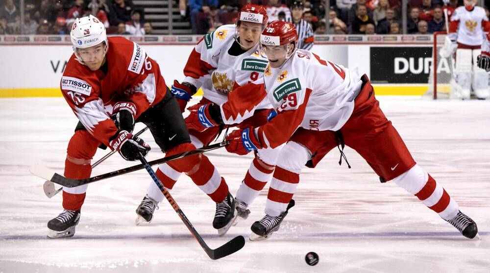 Wjc Russia Beats Switzerland Slovakia Beats Kazakhstan Si Com