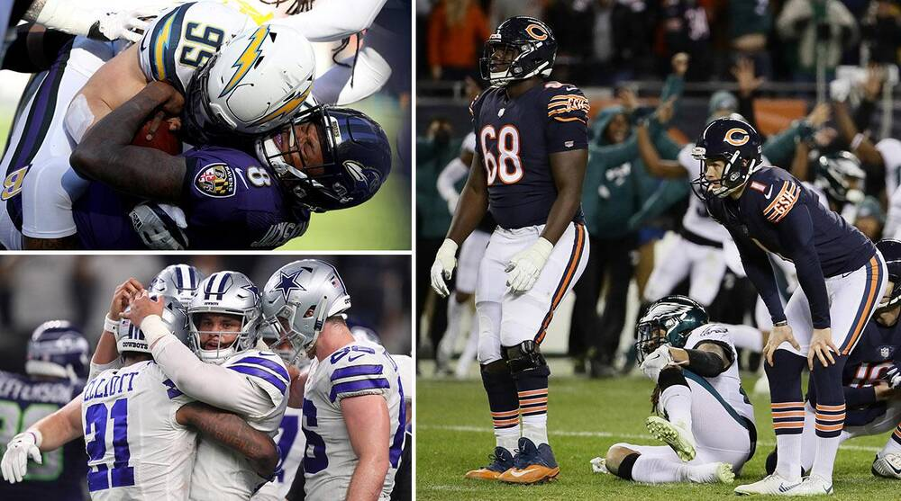 79f59e51 NFL playoffs breakdown: Eagles-Bears, Chargers-Ravens | SI.com