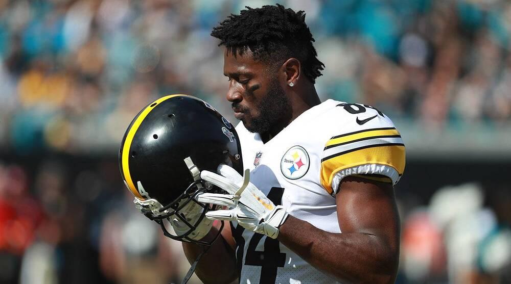 5f0b0f06482 Antonio Brown-Steelers feud winds down on Twitter