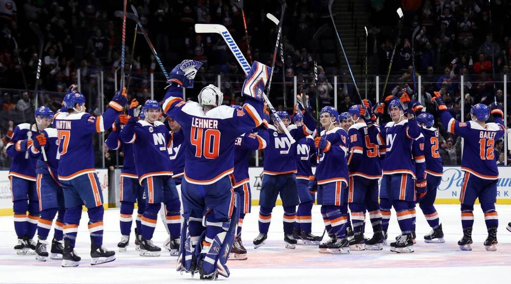 60df81c7c65150 NHL Power Rankings: Islanders surge; Flames, Lightning still lead ...