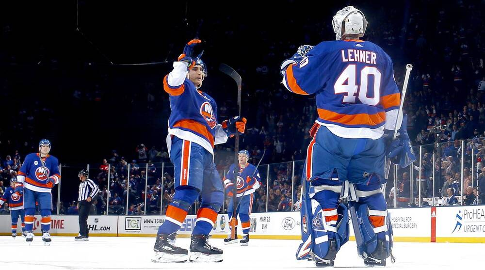 size 40 dbbed 51c5c Robin Lehner, Islanders enter All-Star break as NHL's ...