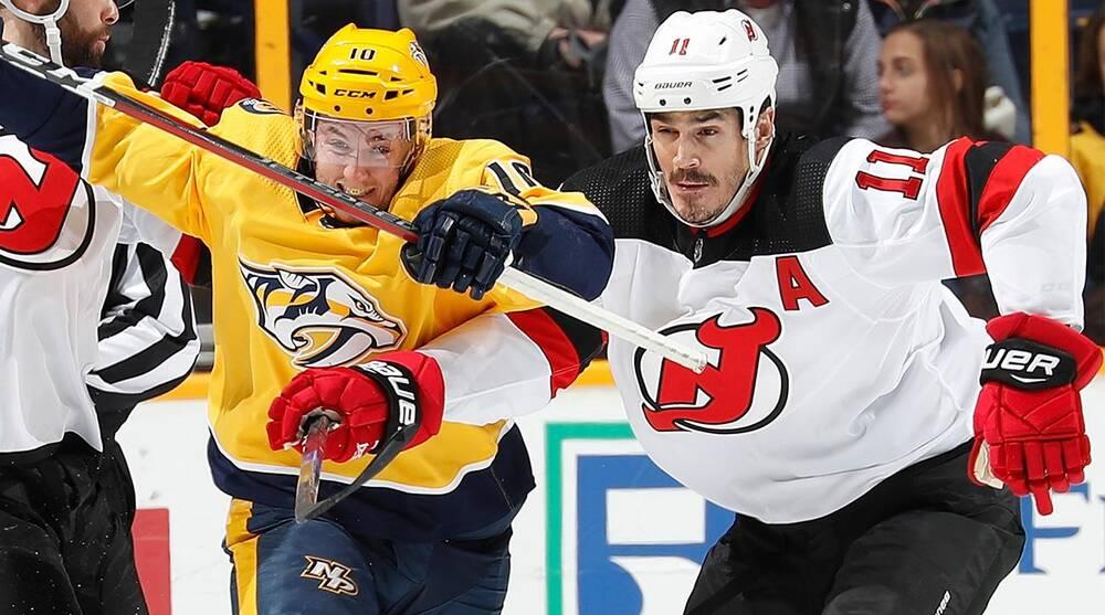 7fbab667e2a The Nashville Predators have acquired veteran forward Brian Boyle from the  New Jersey Devils ...