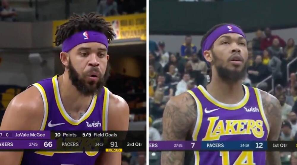 e64219ab1f7 Lakers trade rumors  Pacers fans mock LeBron s teammates with chants ...