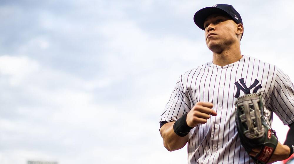 Aaron Judge fully healthy going into Yankees  spring training  0f85db6840e