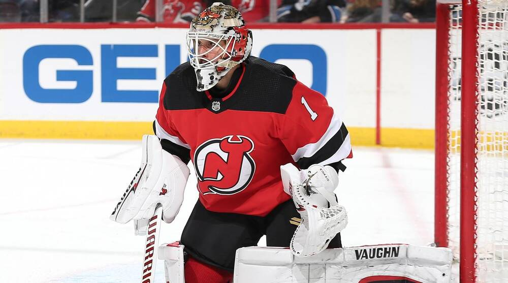 save off 8f520 98db0 NHL trade deadline: Blue Jackets acquire Keith Kinkaid from ...
