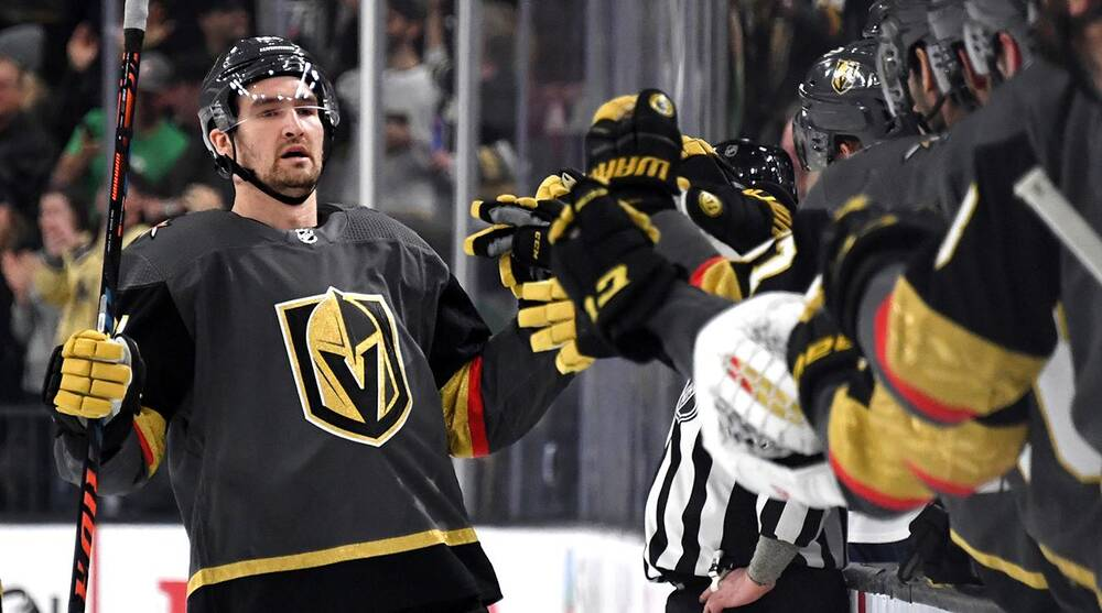 Nhl Power Rankings Golden Knights Heat Up Right Before Playoffs