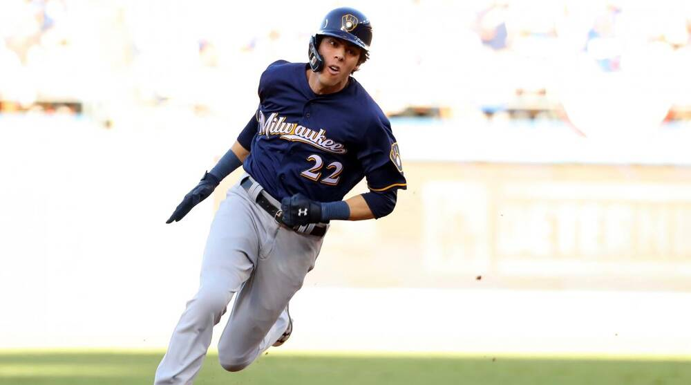 79f8bf42f Christian Yelich and the Bolstered Milwaukee Brewers Are Squarely in the  Pennant Hunt