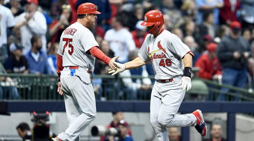 b20ab02e Cardinals' Paul Goldschmidt hits three home runs in second game | SI.com