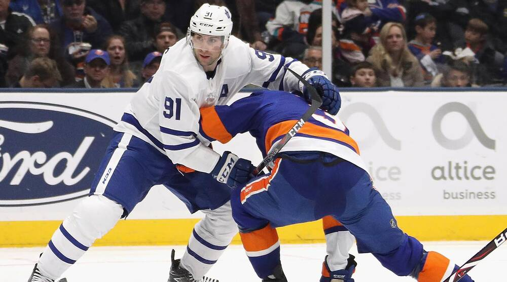 competitive price d041a c6b06 John Tavares, Maple Leafs can't play Islanders until ...