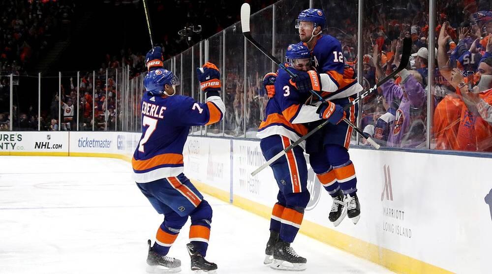 first rate e3b1a d83de Islanders' Josh Bailey gets redemption, scores OT winner vs ...