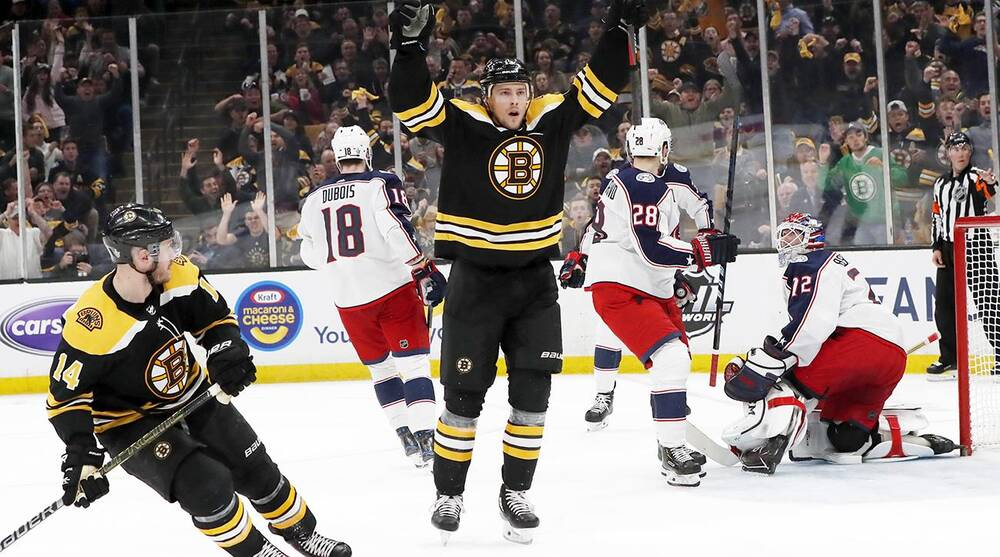 Image result for bruins blue jackets