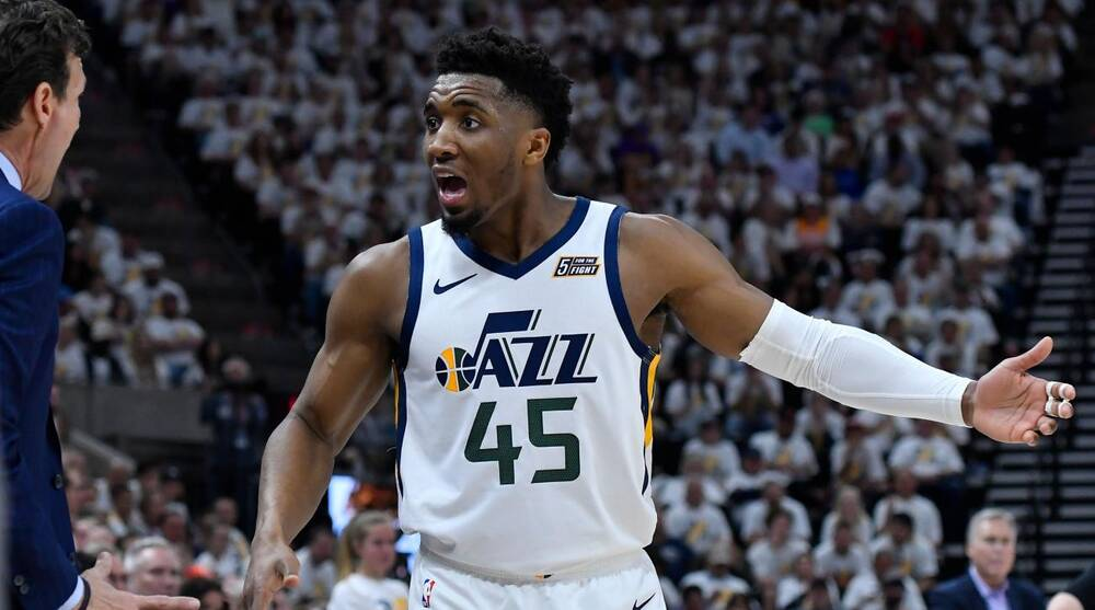 reputable site 3c673 edd21 2019 NBA Playoffs: The future of Donovan Mitchell and the ...