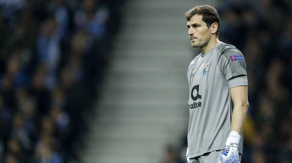 95b3cd1a0 Iker Casillas heart attack  Real Madrid legend hospitalized
