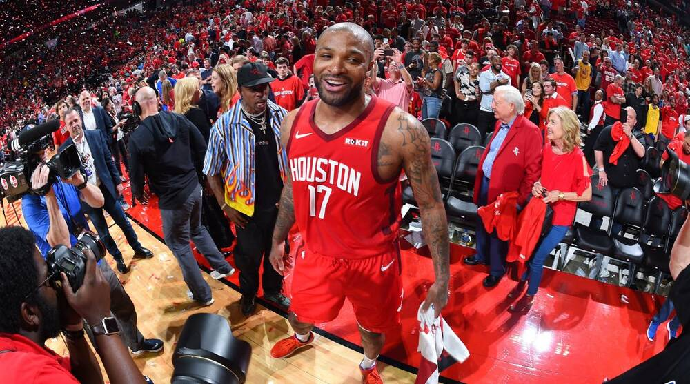 ddf823f8c8cae4 NBA Playoffs 2019  PJ Tucker s defense is keeping the Rockets alive ...