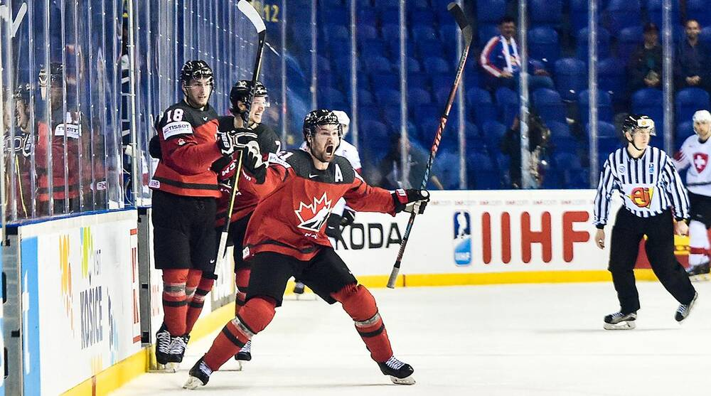 Iihf World Championship Canada Beats Switzerland Us Sweden Out