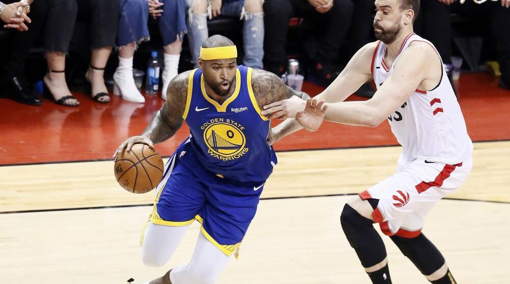 3bf0a7b1 Open Floor Podcast: DeMarcus Cousins, Steph Curry lead Warriors in ...