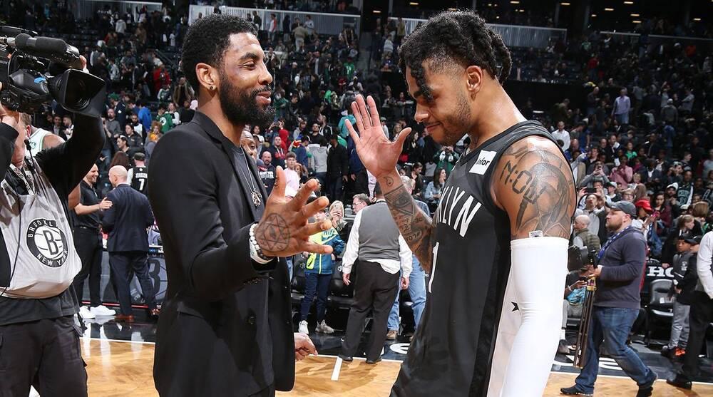 多位籃網球員稱下賽季會和厄文打球,籃網認為幾乎達成協議,而Russell很可能離隊!-籃球圈