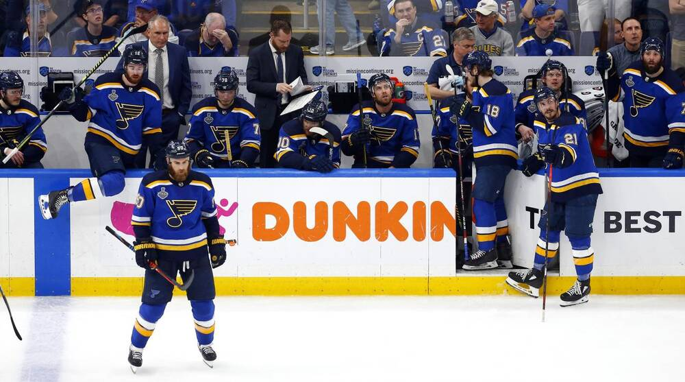 Stanley Cup Final Blues Hope To Rebound On Road Again For Game 7