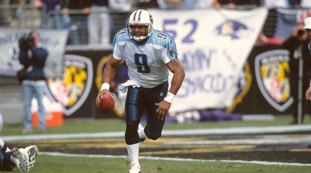 best cheap b2645 63af5 Steve McNair jersey retirement: Titans to honor slain ...