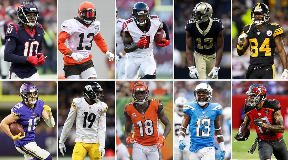 best nfl wr 2019 Ranking the NFL's top 10 wide receivers for 2019 | SI.com