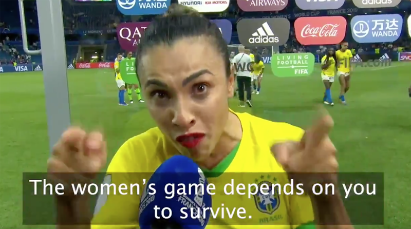 soccer, marta, brazil, france, 2019 women's world cup, wire