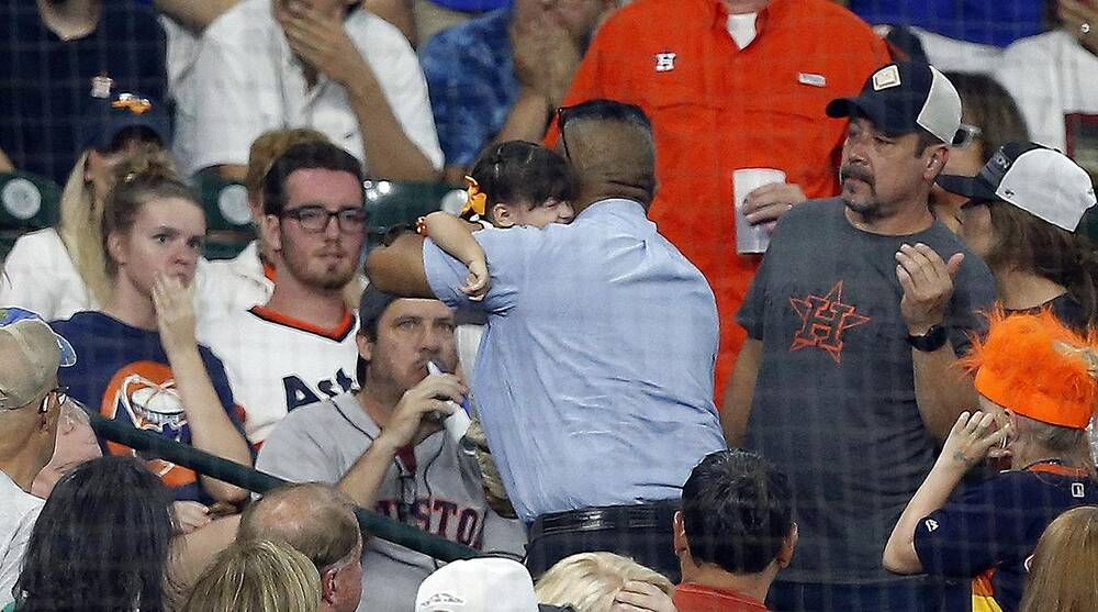 53e5cae8e Girl hit by foul ball at Astros game suffered skull fracture | SI.com