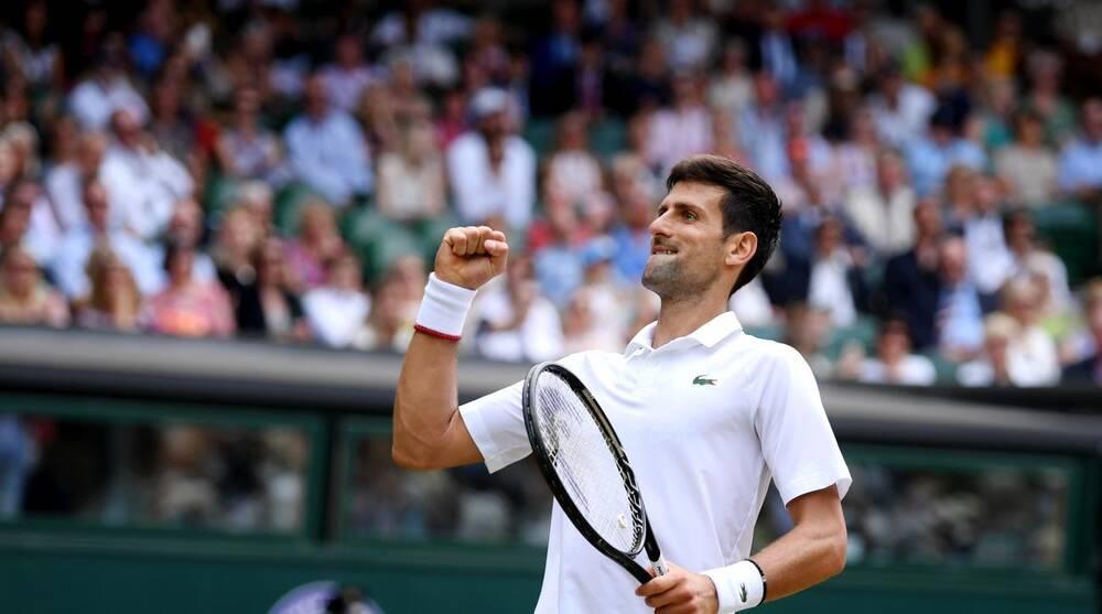 Wimbledon: Djokovic thrashes Agut for finals
