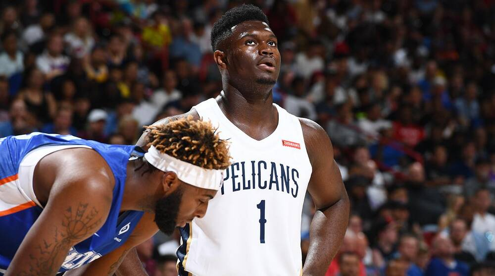 buy online 24673 7a55b Crossover NBA Podcast: Breaking down Zion Williamson's ...