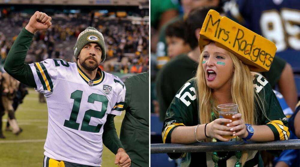 5ea13470 Packers beer prices: Aaron Rodgers wants them lowered for rowdy fans ...