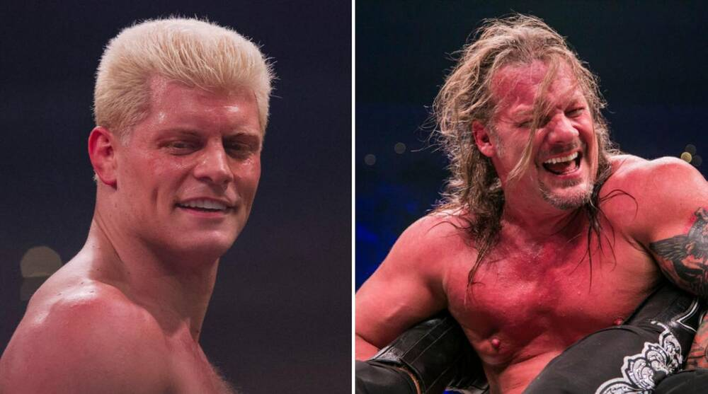 Image result for AEW Cody vs Chris Jericho