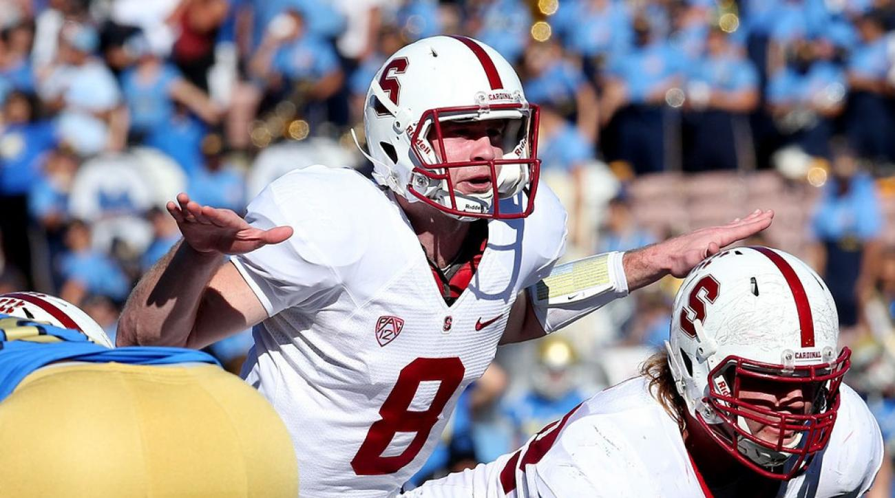Stanford Cardinal In Good Hands With Quarterback Kevin Hogan Si Com
