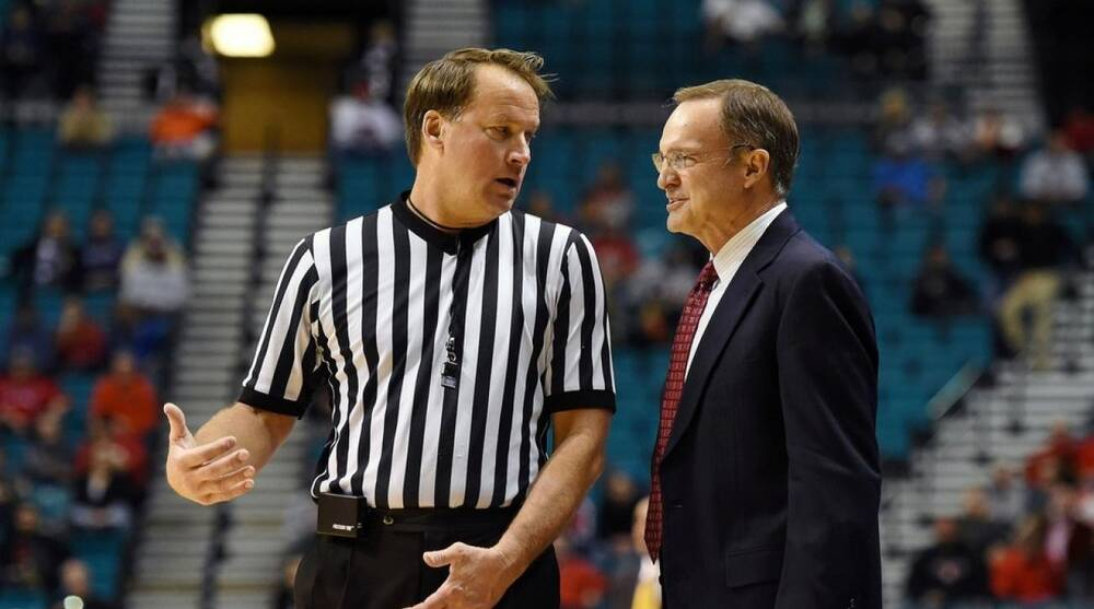 NCAA basketball s most recognized referee is well-traveled John ... 84abf5257