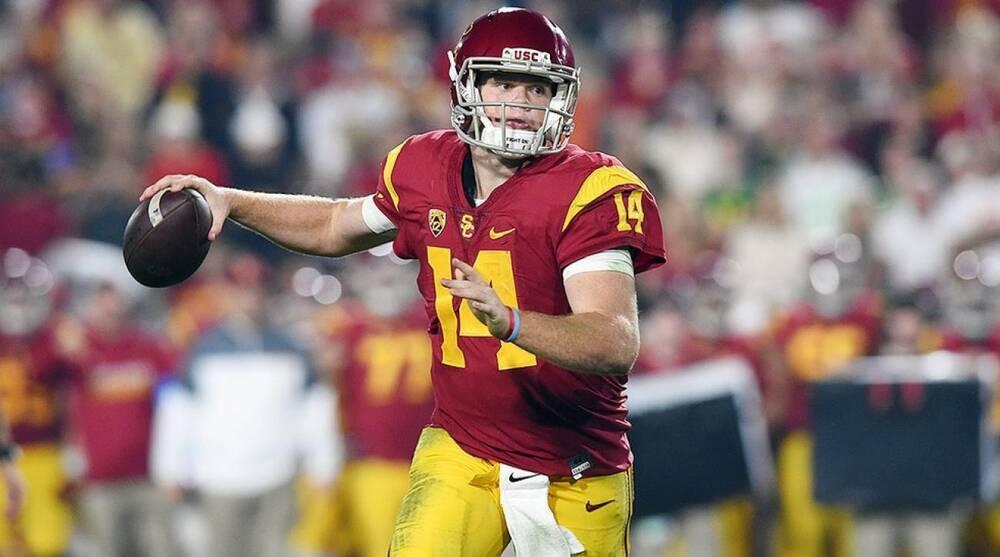 Usc Football How Sam Darnold Is Saving Trojans Clay Helton